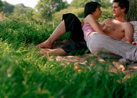 Couple doing nothing together under a tree Non-Typical Ways to Celebrate Love EAT LOVE SAVOR International luxury lifestyle magazine and bookazines