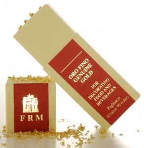 Edible Gold Shaker Box Luxurious Garnish: Edible Gold - EAT LOVE SAVOR International luxury lifestyle magazine and bookazines