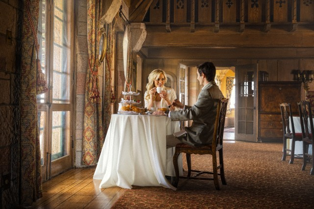 couple having tea Enjoying Afternoon Tea EAT LOVE SAVOR International luxury lifestyle magazine and bookazines