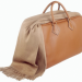 luggage and cashmere shawl