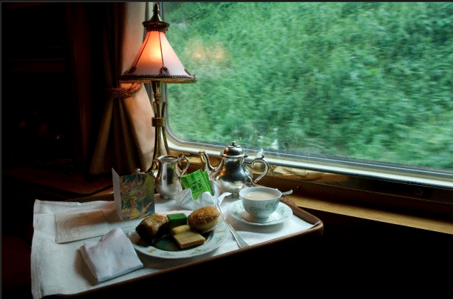 train orient express afternoon tea Trains - The New/Old Way to Travel - EAT LOVE SAVOR International luxury lifestyle magazine and bookazines