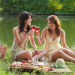 French Women having Picnic