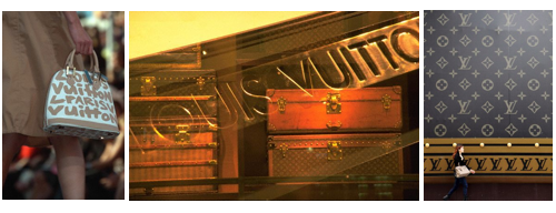 Louis Vuitton trunks banner Vintage Luggage: The Louis Vuitton Trunk EAT LOVE SAVOR International luxury lifestyle magazine and bookazines
