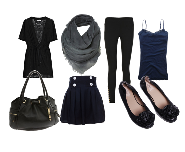 Travel wardrobe polyvore photo