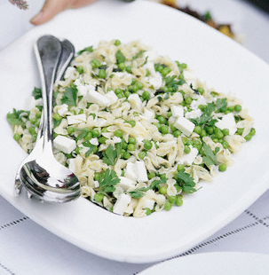 pasta and peas Recipe Box: Pasta Salad with Peas, Lemon and Goat Cheese EAT LOVE SAVOR International luxury lifestyle magazine and bookazines