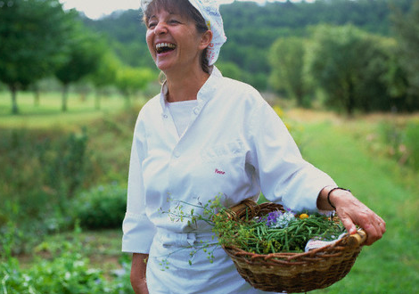 Chef Raine Sammut in her garden Restaurants with Gardens: Where Farm to Table Meets Fine Dining EAT LOVE SAVOR International luxury lifestyle magazine and bookazines