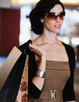 Woman in luxury sunglasses For the Love of Luxury Sunglasses - EAT LOVE SAVOR International luxury lifestyle magazine and bookazines