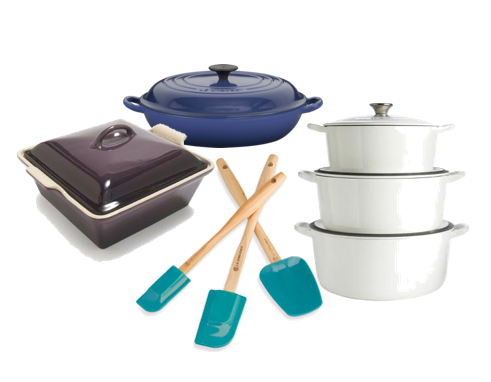 Assorted Le Creuset Discover: Le Creuset - Luxury Cookware, Tomorrow's Heirlooms EAT LOVE SAVOR International luxury lifestyle magazine and bookazines