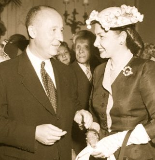 Designer Christian Dior Attending Fashion Show Party Discover: Iconic Luxury Fashion: Christian Dior EAT LOVE SAVOR International luxury lifestyle magazine and bookazines
