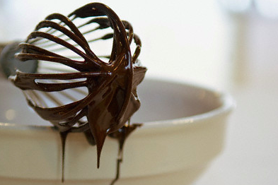 chocolate on a whisk Discover: Whisks - the Simple Luxury of Great Kitchen Tools EAT LOVE SAVOR International luxury lifestyle magazine and bookazines