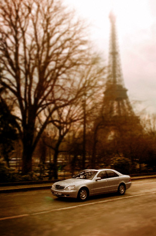 mercedes in paris