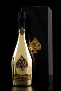 Armand de Brignac Brut Gold with Case Champagne Houses: Armand De Brignac - EAT LOVE SAVOR International luxury lifestyle magazine and bookazines