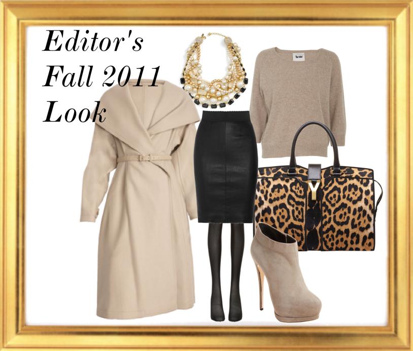Editors Fall Fashion Look 2011 Editor's Pick: Fall Look EAT LOVE SAVOR International luxury lifestyle magazine and bookazines