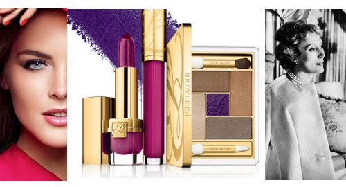 Estee Lauder banner eat love savor Classic Beauty Brands: ~ A Look at Estée Lauder - EAT LOVE SAVOR International luxury lifestyle magazine and bookazines