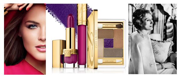 Estee Lauder banner eat love savor Classic Beauty Brands: ~ A Look at Estée Lauder EAT LOVE SAVOR International luxury lifestyle magazine and bookazines