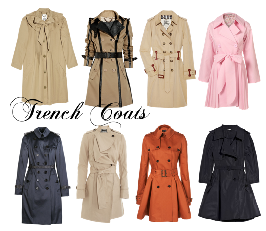 fashion classics the trench coat