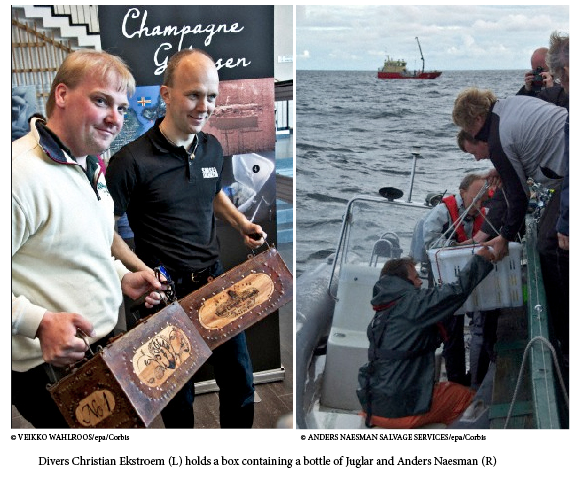 Sale of worlds most expensive champage finland The Mystery is Solved: The Most Expensive Champagne in the World was Purchased EAT LOVE SAVOR International luxury lifestyle magazine and bookazines