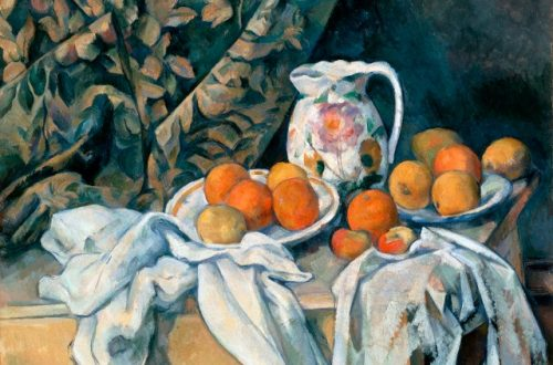 still life with a curtain cezanne Discover Master Artist: Cézanne EAT LOVE SAVOR International luxury lifestyle magazine and bookazines