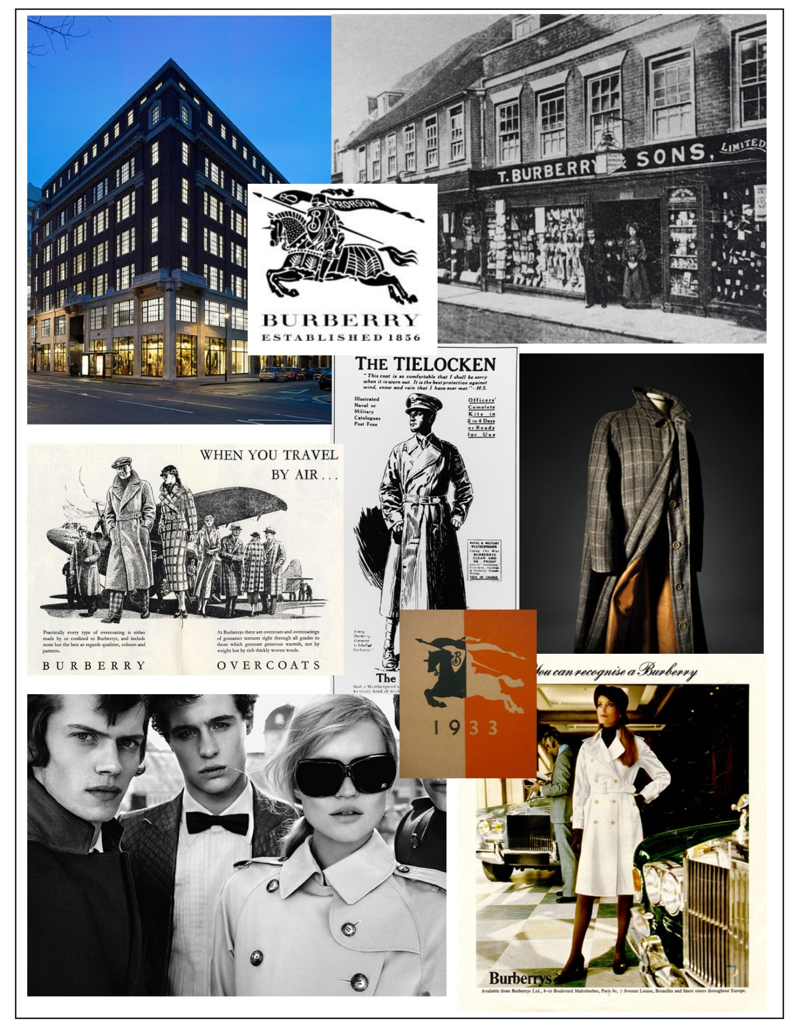 history of burberry Founded by thomas burberry in 1856, discover the history of the brand with a timeline from the heritage archive.