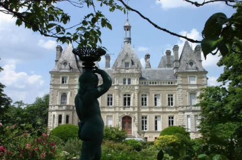 19th century castle near france Discover: A Peek at Castle Life in France - EAT LOVE SAVOR International luxury lifestyle magazine and bookazines