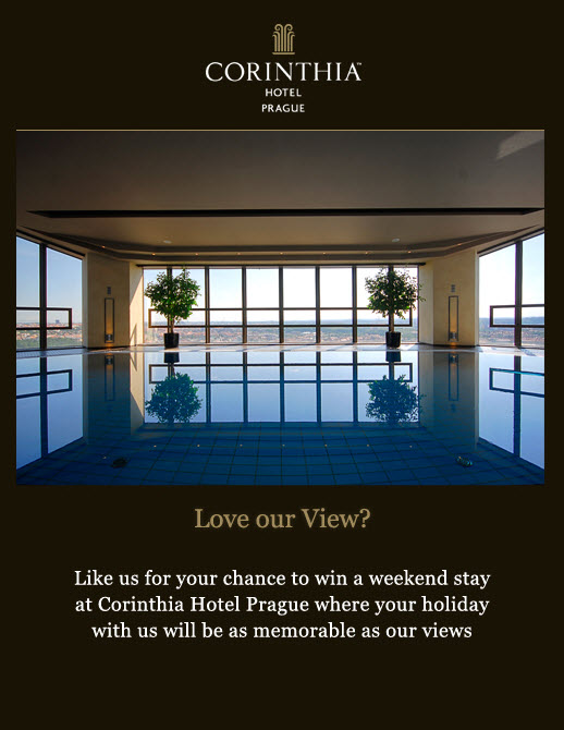 Corinthia Prague Travel Competition Image Top 5 Places to Experience Fine Dining in Prague - EAT LOVE SAVOR International luxury lifestyle magazine and bookazines