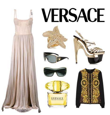 versace editorial