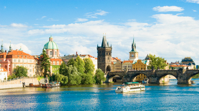 view of Prague John Harper Top 5 Places to Experience Fine Dining in Prague - EAT LOVE SAVOR International luxury lifestyle magazine and bookazines