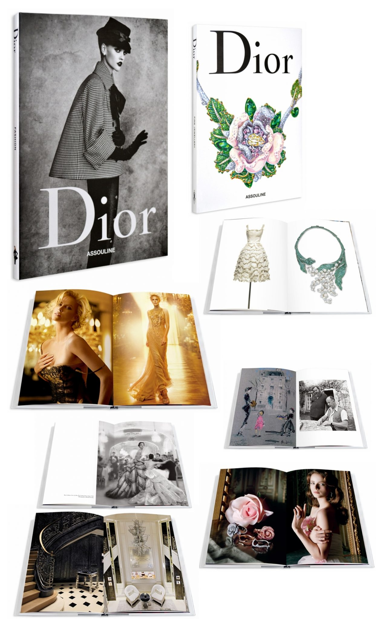 0001GD DIOR: A Three-Volume, slipcase set! EAT LOVE SAVOR International luxury lifestyle magazine and bookazines