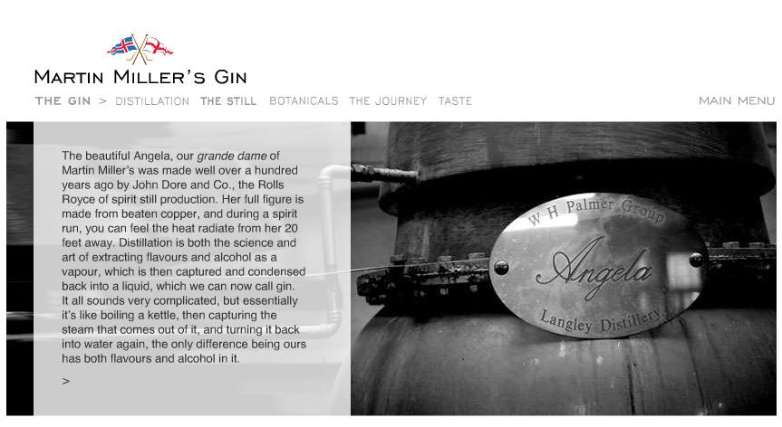 Martin Miller distillery Angela
