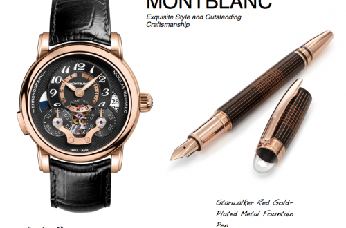 Montblanc Starwalker and Nicolas R chonograph watch1 Montblanc: The Peak of Craftsmanship - EAT LOVE SAVOR International luxury lifestyle magazine and bookazines