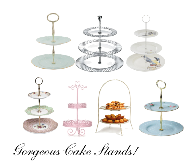 cake stands For the Love of: Afternoon Tea Cake Stands - EAT LOVE SAVOR International luxury lifestyle magazine and bookazines