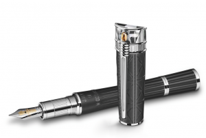 Montblanc Statue of Liberty Fountain Pen High Res Discover: The Art of Love Letters - EAT LOVE SAVOR International luxury lifestyle magazine and bookazines