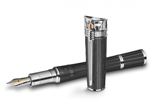 Montblanc Statue of Liberty Fountain Pen High Res