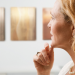pensive woman looking at art Top 10 Uses for Truffle Oil EAT LOVE SAVOR International luxury lifestyle magazine and bookazines