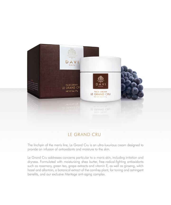 DS TRADESHOW CRU M 1 Daviskin: From Great Grapes Comes Great Skincare - EAT LOVE SAVOR International luxury lifestyle magazine and bookazines