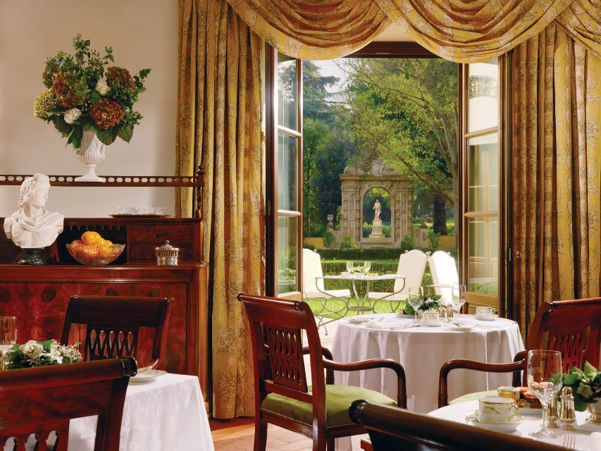 Four Seasons Firenze Magnolia breakfast room 1 Luxury Breakfasts: Interview with Executive Chef: Vito Mollica, Four Seasons Firenze - EAT LOVE SAVOR International luxury lifestyle magazine and bookazines