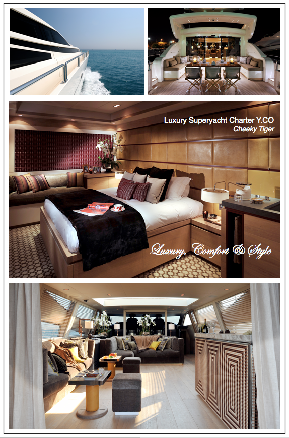 YCO luxury superyacht charter cheeky tiger