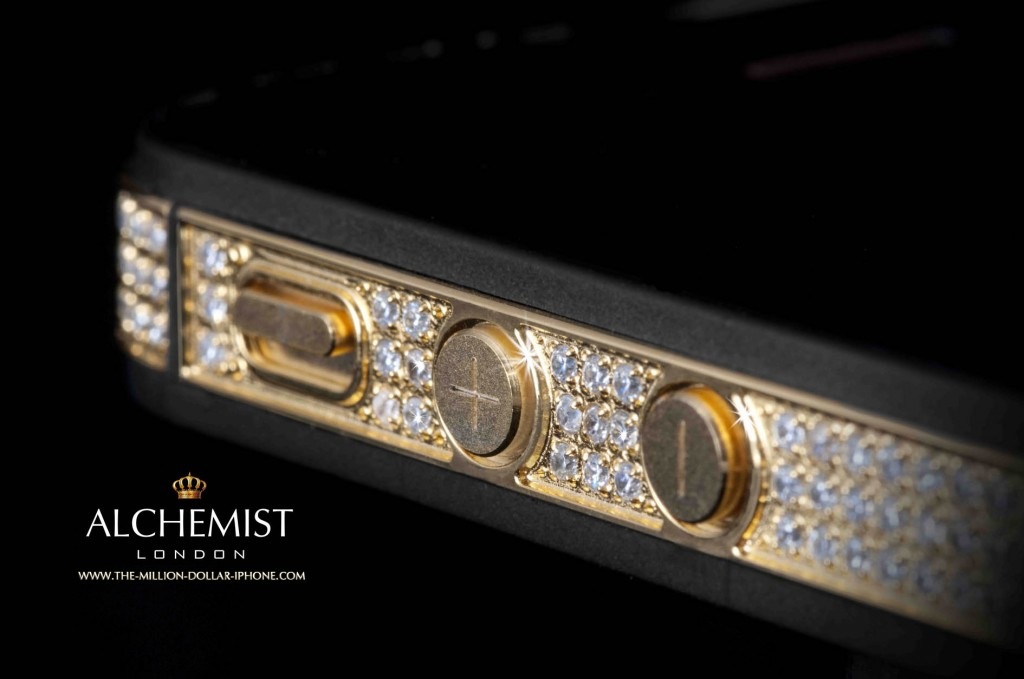 alchemist The Sides Jewelry and Technology: The One Million Dollar #iPhone - EAT LOVE SAVOR International luxury lifestyle magazine and bookazines