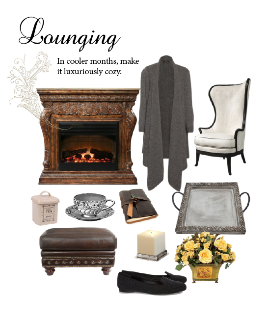 the art of lounging coooler months The Art of Lounging: Cooler Months - EAT LOVE SAVOR International luxury lifestyle magazine and bookazines