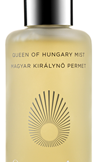 QUEEN OF HUNGARY MIST Uplifting, Beautiful and Historical: Queen of Hungary Mist from Omorovicza EAT LOVE SAVOR International luxury lifestyle magazine and bookazines