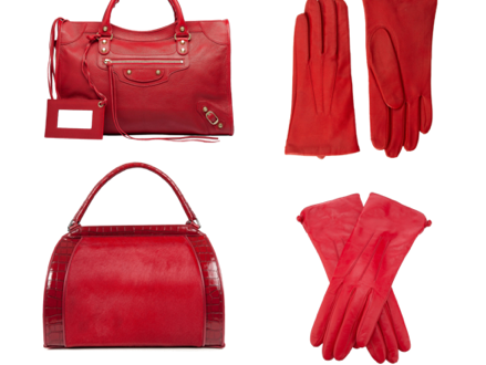 red bags and gloves 2012 Color Story: The Meaning of Red, plus Bags and Gloves! - EAT LOVE SAVOR International luxury lifestyle magazine and bookazines
