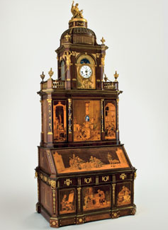 Magnificent 18thcentury Mechanical Furniture By Abraham And David