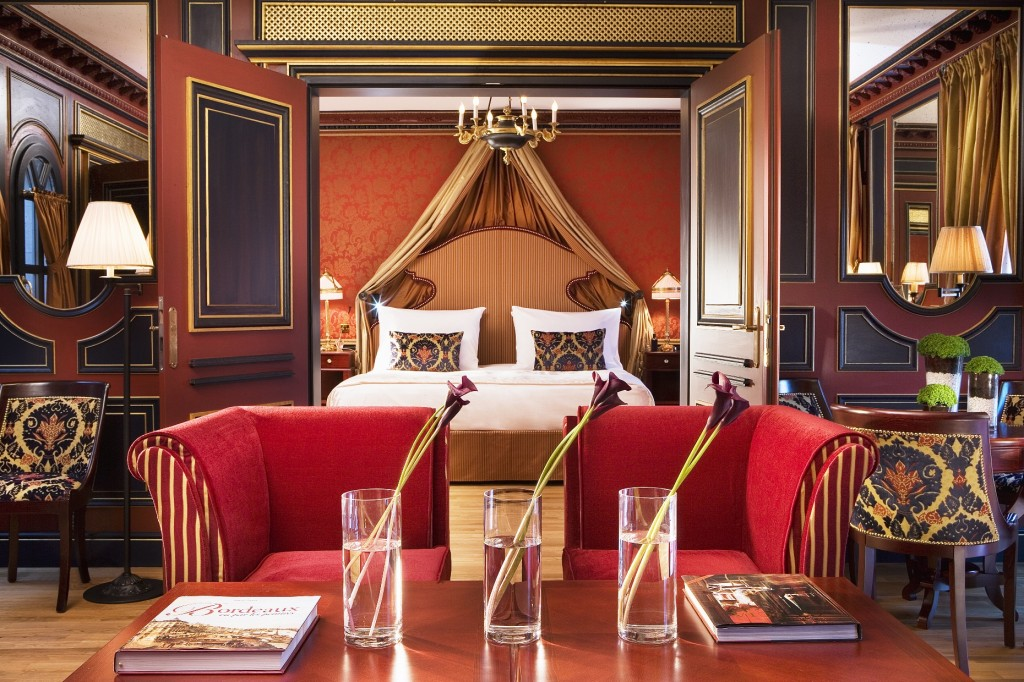 Royale Suite 2 DISCOVER: History, Elegance and Gastronomy: The Grand Hôtel de Bordeaux & Spa EAT LOVE SAVOR International luxury lifestyle magazine and bookazines