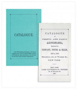 Tiffany and co blue collection catalogue A Look at the History of Icon, Tiffany & Co - EAT LOVE SAVOR International luxury lifestyle magazine and bookazines