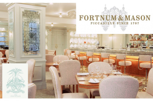 fortnum and mason the fountain DISCOVER: Fortnum and Mason. Purveyors of High Quality Goods Since the 1700's - EAT LOVE SAVOR International luxury lifestyle magazine and bookazines