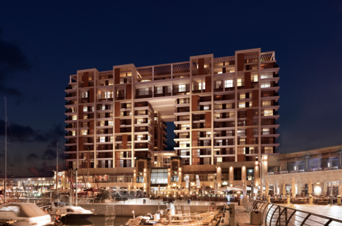 RitzCarlton isreal view by night The Residences at The Ritz-Carlton, Herzliya launch their first luxury holiday apartments on the Mediterranean coast in Israel - EAT LOVE SAVOR International luxury lifestyle magazine and bookazines