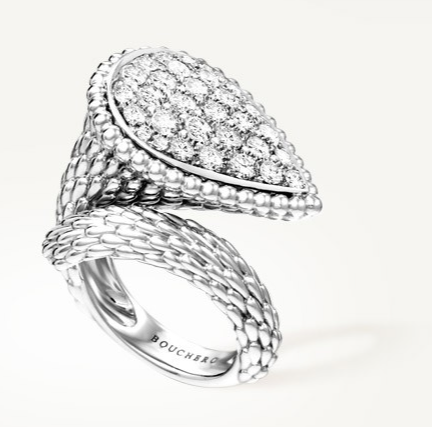 The Maison Boucheron serpent ring Make a Statement: Serpent Bohème Large Ring from The Maison Boucheron - EAT LOVE SAVOR International luxury lifestyle magazine and bookazines
