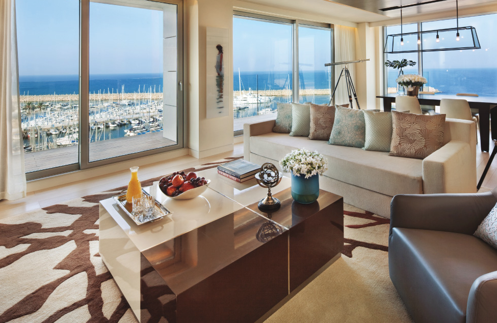 ritz carlton isreal lounge The Residences at The Ritz-Carlton, Herzliya launch their first luxury holiday apartments on the Mediterranean coast in Israel - EAT LOVE SAVOR International luxury lifestyle magazine and bookazines