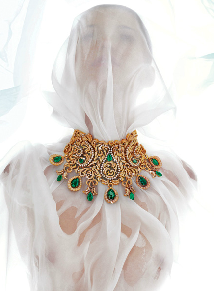 Bina Goenka necklace1 PROFILE: International Luxury Jewellery Designer, Bina Goenka, Creates Timeless Masterpieces To Be Treasured EAT LOVE SAVOR International luxury lifestyle magazine and bookazines