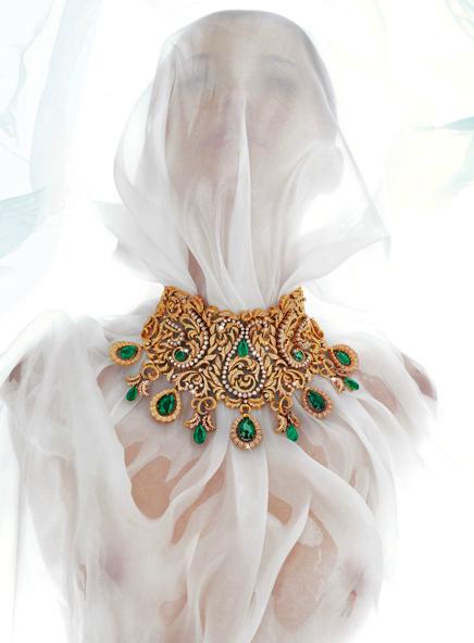 Bina Goenka necklace1 PROFILE: International Luxury Jewellery Designer, Bina Goenka, Creates Timeless Masterpieces To Be Treasured - EAT LOVE SAVOR International luxury lifestyle magazine and bookazines